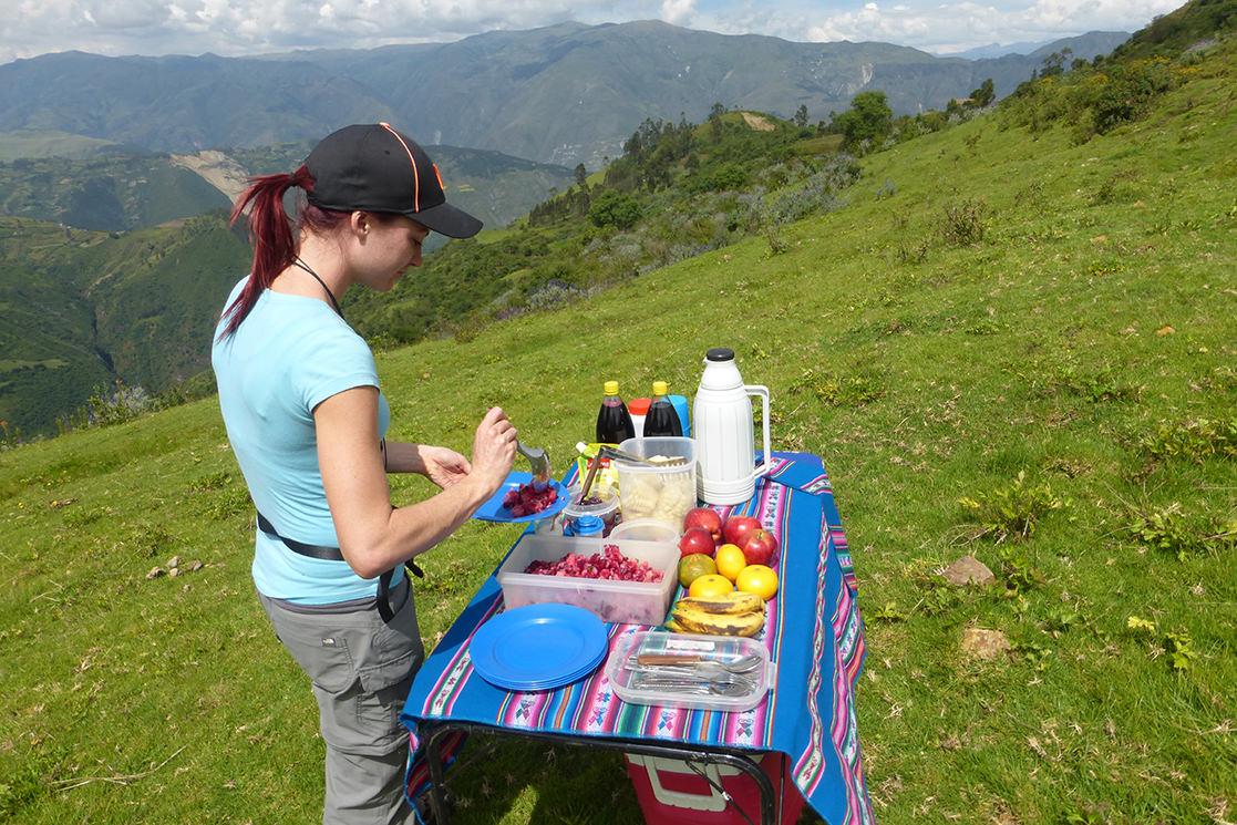 Fam Trip Picnic - Andean Spirit Destinations
