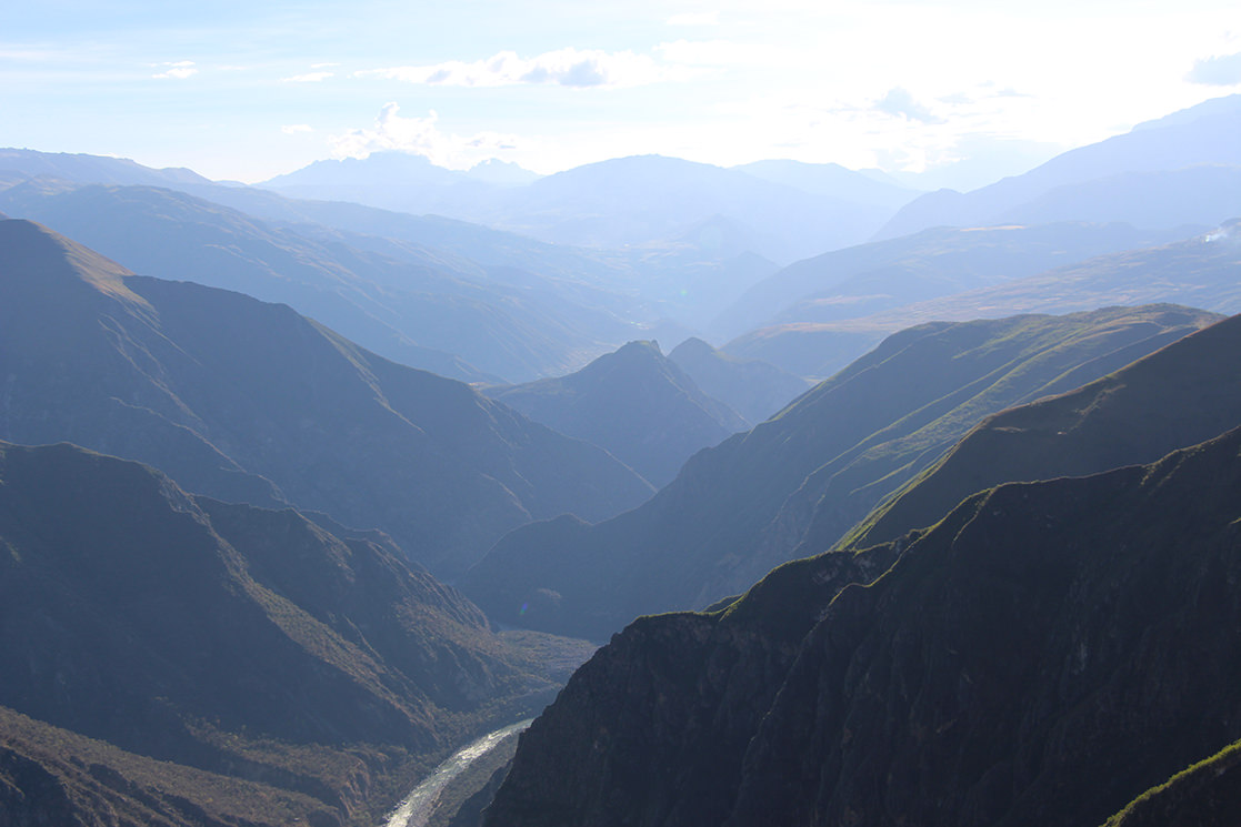 Condor Viewpoint of Chonta - Andean Spirit