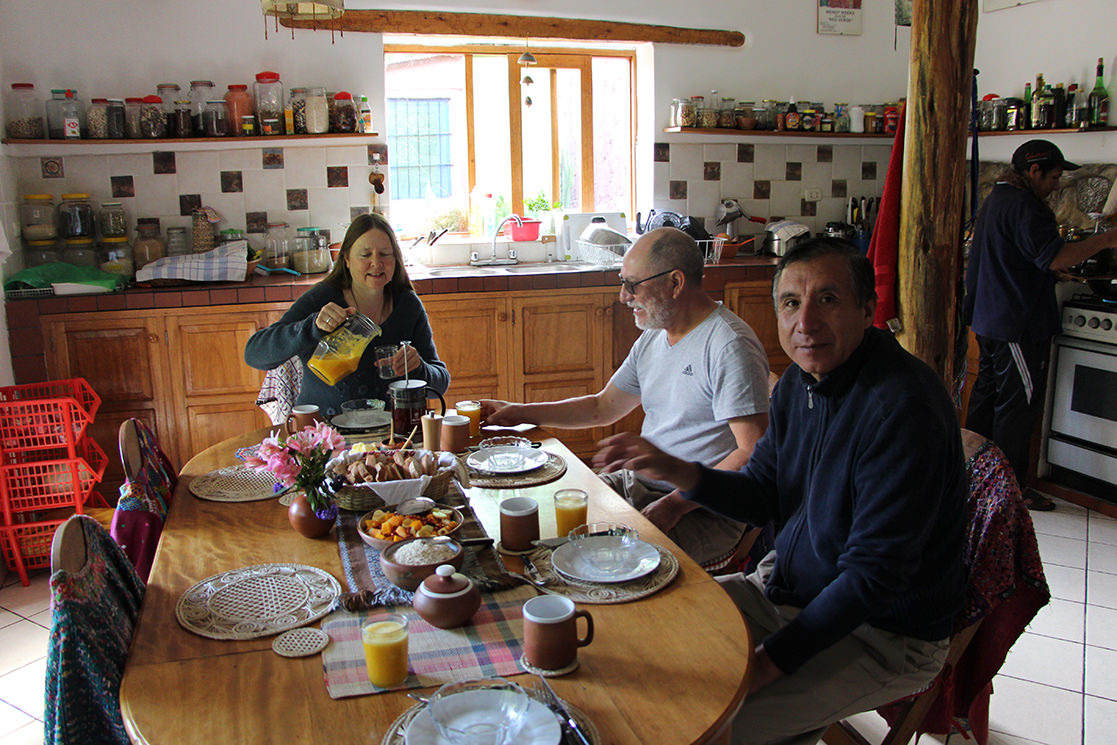 Breakfast - Andean Spirit Lodge