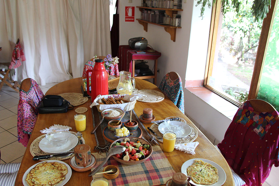 Breakfast at the Andean Spirit Lodge