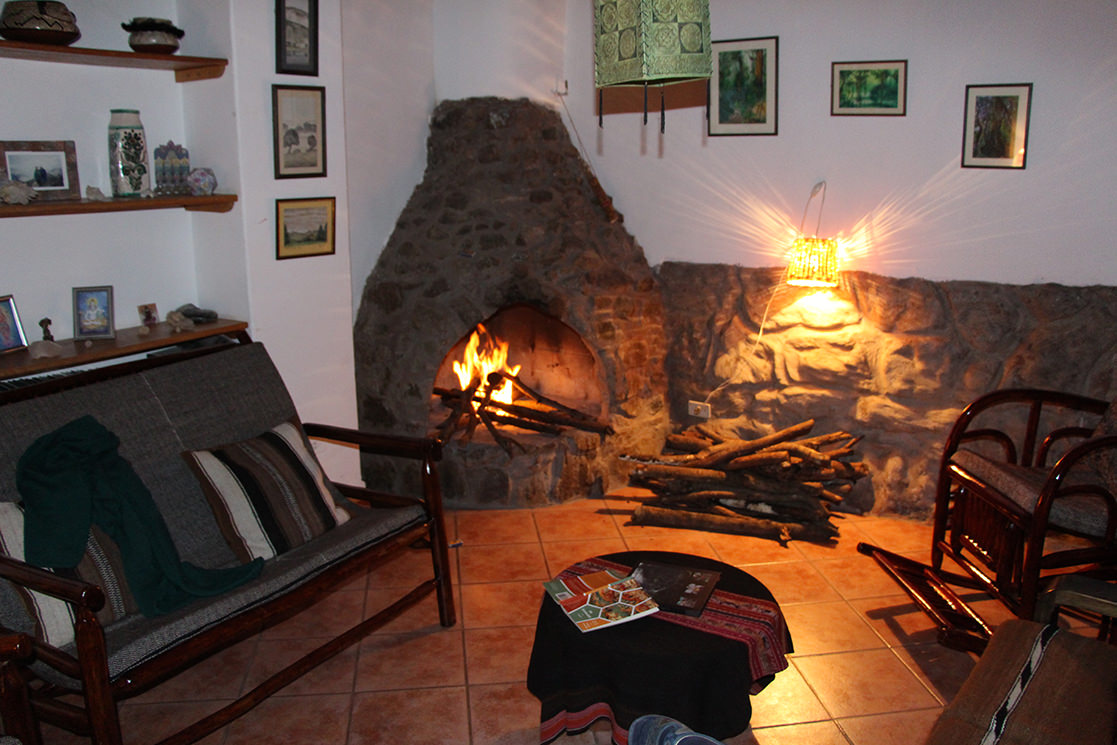 Fireside at Limatambo - Andean Spirit Destinations