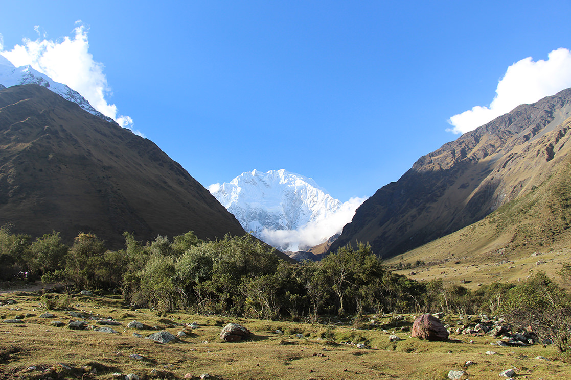 Beautiful Salkantay Vista - Andean Spirit