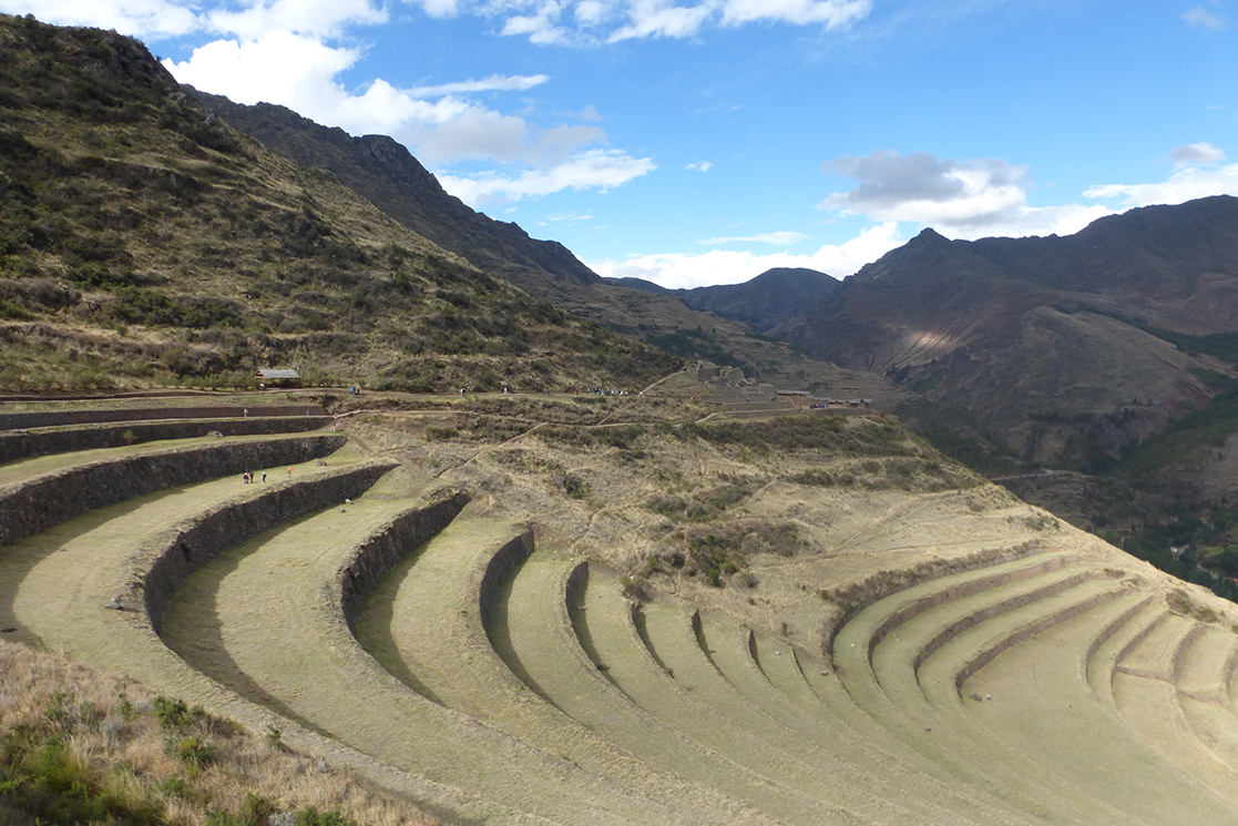 Inca terraces at Pisac - Andean Spirit