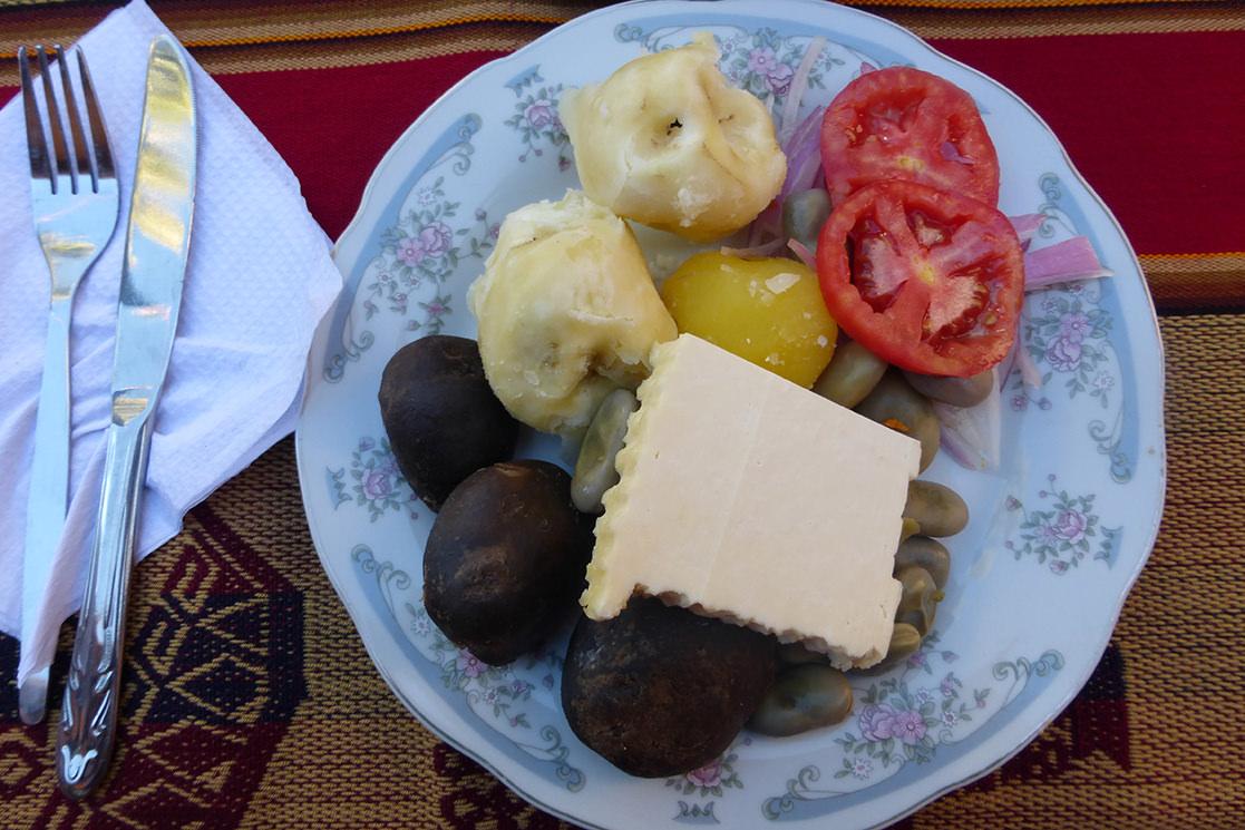 Quechua food