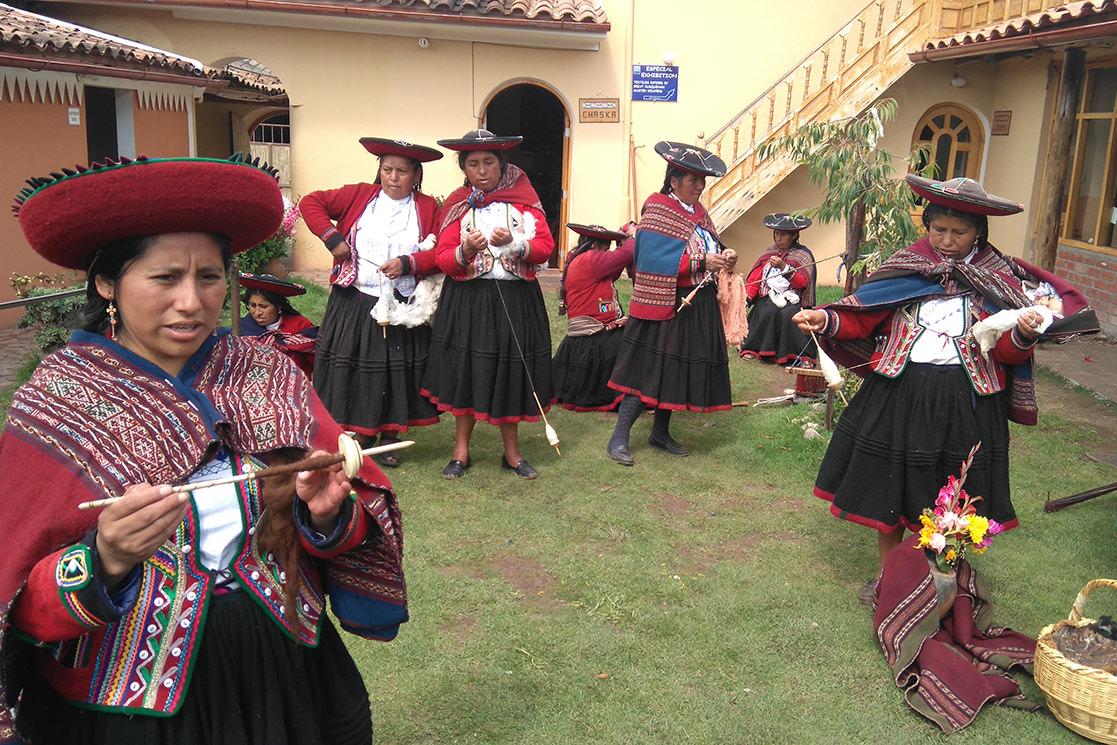 Andean weavers