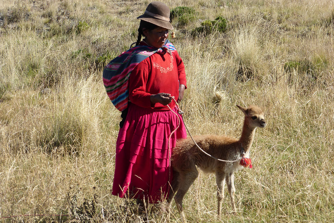Quechua Woman - Andean Spirit Destinations
