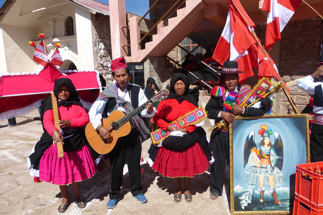 Fiesta on Taquile Island - Andean Spirit Destinations