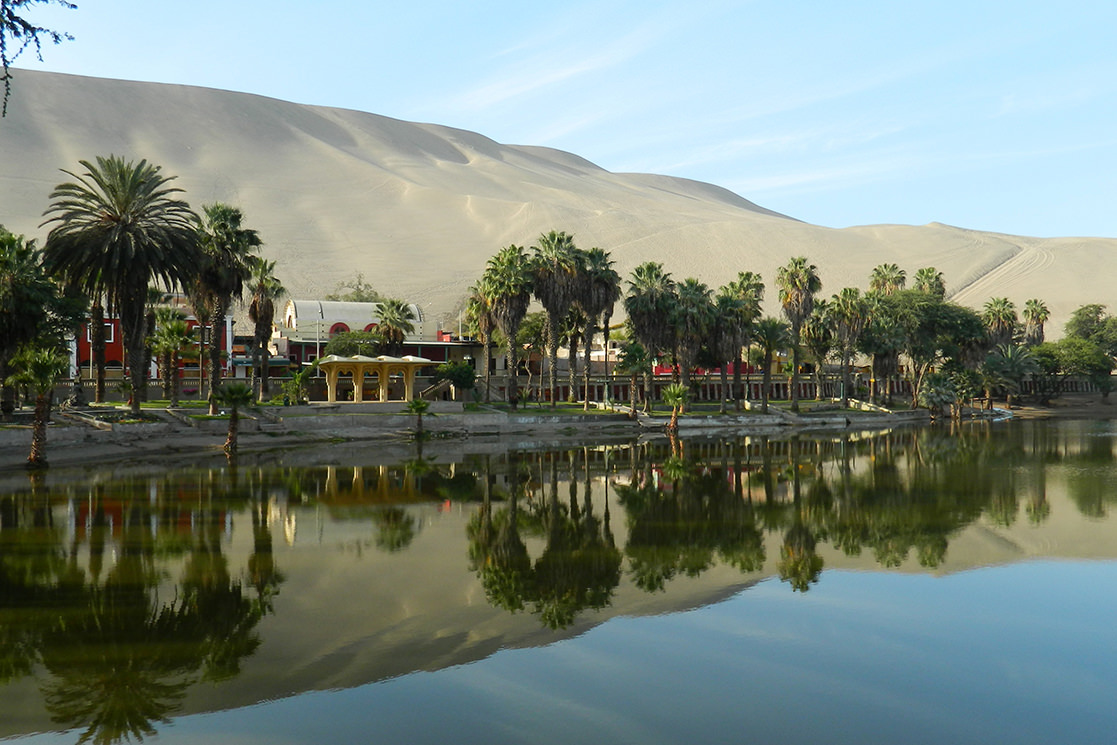 Oasis of Huacachina - Andean Spirit Destinations