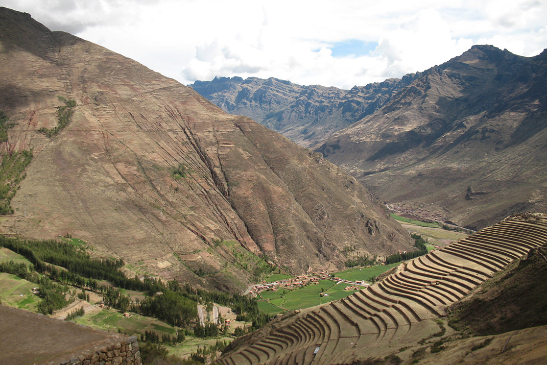 Inca Terraces at Pisac - Andean Spirit Destinations