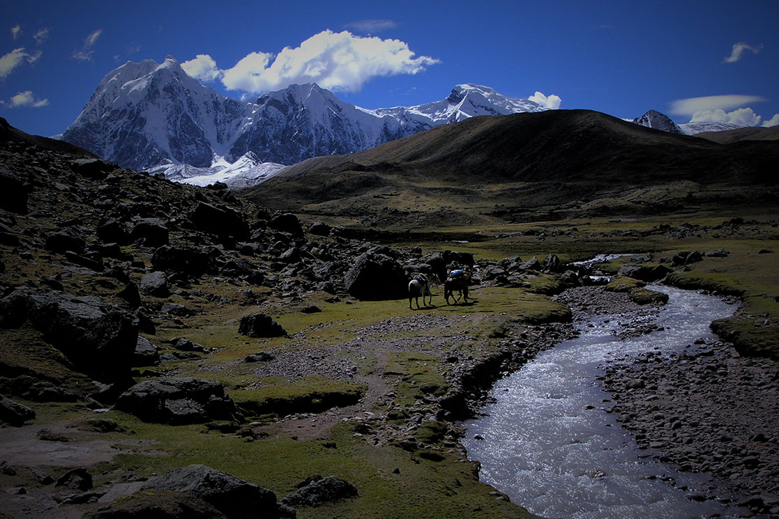 Hiking Along the River - Andean Spirit