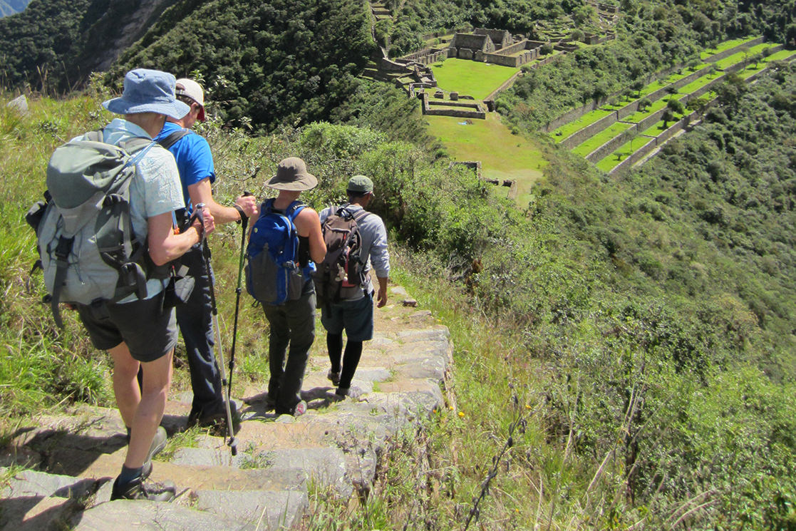 Hiking Down The Path - Andean Spirit Destinations